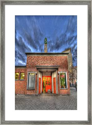 Nordbahn Framed Print by Nathan Wright