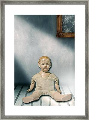 Old Doll Framed Print by Joana Kruse