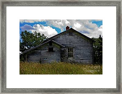 Old School Framed Print by Kris Napier