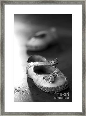 Old Shoes Framed Print by Jane Rix