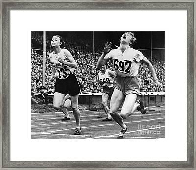 Olympic Games, 1948 Framed Print by Granger
