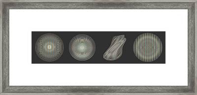 Ongrey 16 Framed Print by Li   van Saathoff