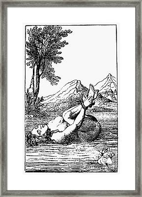 Ordeal By Water Framed Print by Granger