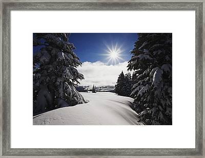 Oregon Cascades, Oregon, United States Framed Print by Craig Tuttle