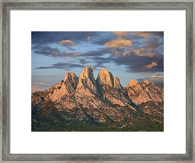 Organ Mountains Near Las Cruces New Framed Print by Tim Fitzharris