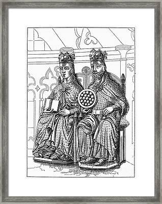 Otto I (912-973) Framed Print by Granger