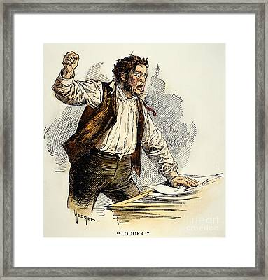 Owen Lovejoy (1811-1864) Framed Print by Granger
