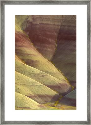 Painted Hills Framed Print by Greg Vaughn