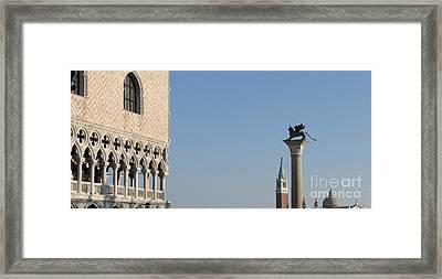 Palace Ducal. Venice Framed Print by Bernard Jaubert