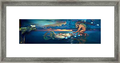 Pavane For A Dead Princess Framed Print by Patrick Anthony Pierson