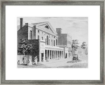 Philadelphia: Theater Framed Print by Granger