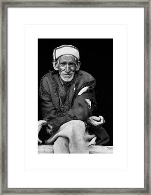 Portrait Framed Print by Ronnie Abraham