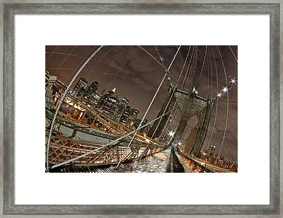 Power Of Perspective Framed Print by Joshua Ball