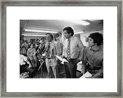 Presidential Campaign, 1972 Framed Print by Granger