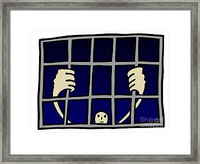 Prisoner Framed Print by Michal Boubin
