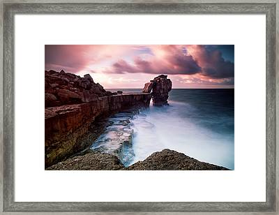 Pulpit Rock Framed Print by Nina Papiorek