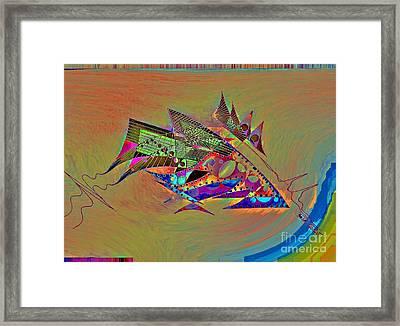 Qrs Framed Print by Jose Vasquez