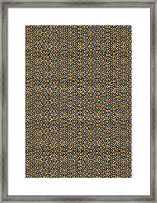 Quasicrystal Framed Print by Eric Heller