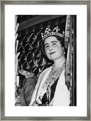 Queen Elizabeth 1900-2002, The Former Framed Print by Everett