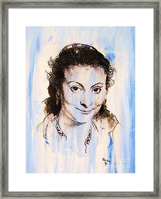 Queen Isabella Framed Print by Roberto Prusso