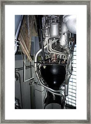R-1 Soviet Rocket Engine Framed Print by Detlev Van Ravenswaay
