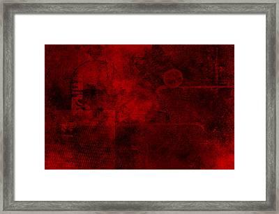 Redstone Framed Print by Christopher Gaston