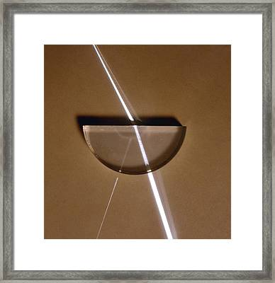 Refraction Framed Print by Andrew Lambert Photography