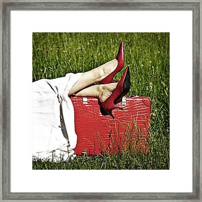 Relax Framed Print by Joana Kruse