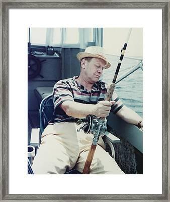 Republican House Minority Leader Gerald Framed Print by Everett