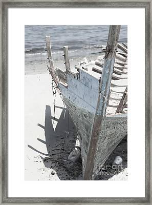 Ribs On The Sand  Framed Print by Kristian Peetz