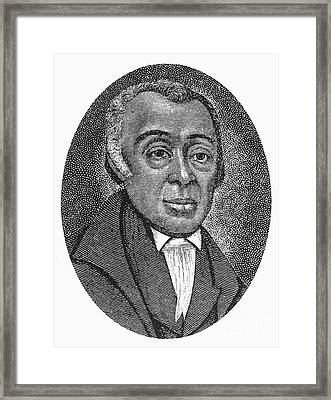 Richard Allen (1760-1831) Framed Print by Granger