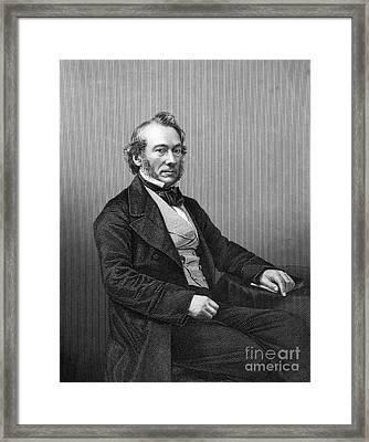 Richard Cobden (1804-1865) Framed Print by Granger