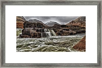 River Etive Framed Print by Fiona Messenger