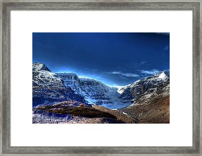 Rocky Mountains Framed Print by Dan S