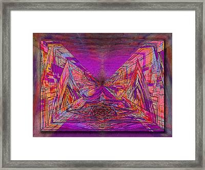 Rumblings Within Framed Print by Tim Allen