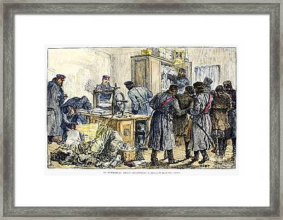Russia: Nihilists, 1887 Framed Print by Granger