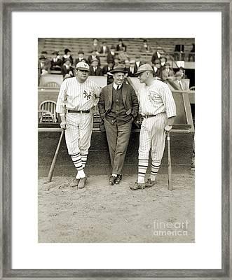 Ruth, Dunn And Bentley Framed Print by Granger