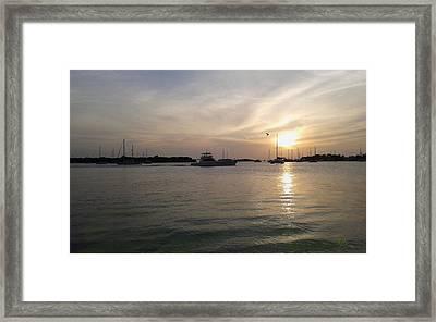 Salinas Bay Framed Print by Tony Rodriguez
