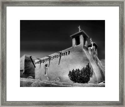 San Francisco De Asis Church Iv Framed Print by Steven Ainsworth