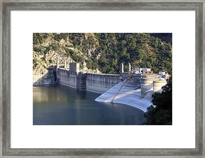 San Gabriel Dam Framed Print by Viktor Savchenko