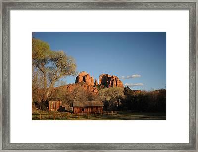 Sedona 014 Framed Print by Earl Bowser
