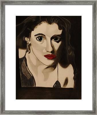 Self Portrait Framed Print by Teri Schuster