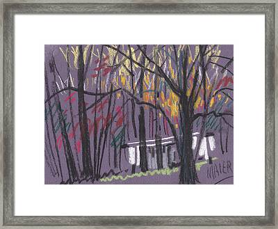 Sheds Framed Print by Donald Maier
