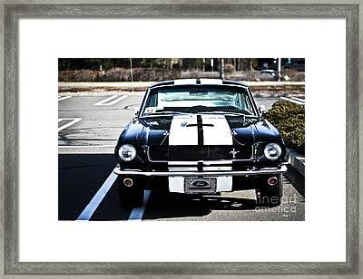 Shelby Gt350 Framed Print by Andrew  Cragin
