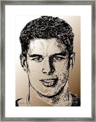 Sidney Crosby In 2007 Framed Print by J McCombie