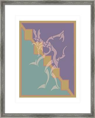 Singer Framed Print by William McDonald