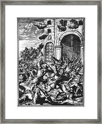 Sir Henry Morgan Framed Print by Granger