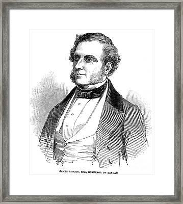 Sir James Brooke (1803-1868) Framed Print by Granger