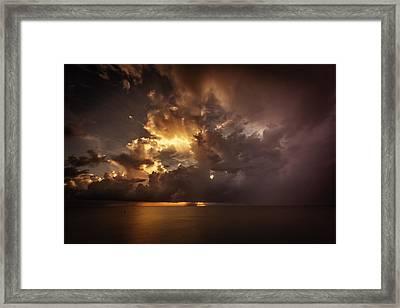 Sliver Sunrise II Framed Print by Mabry Campbell