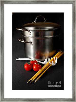 Spaghetti Framed Print by HD Connelly